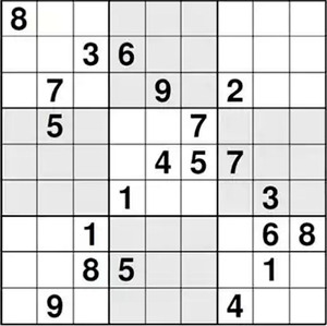 Sudoku challenge picture