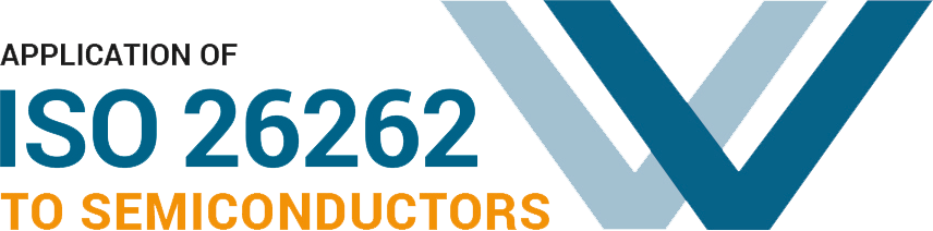 ISO 26262 to Semiconductors logo